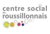Centre Social du Roussillonnais Logo sur mobile