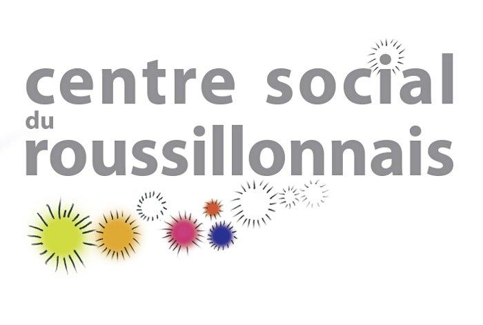 Centre Social du Roussillonnais Retina Logo